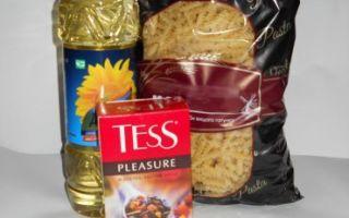 Как осуществить возврат продуктов питания?